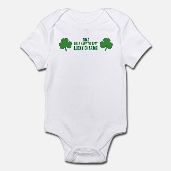 Chad lucky charms Infant Bodysuit