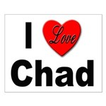 I Love Chad Small Poster