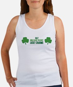 Daly lucky charms Women's Tank Top