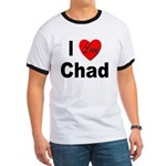 I Love Chad (Front) Ringer T