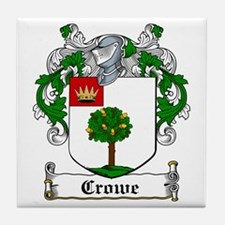 Crowe Coat of Arms Tile Coaster