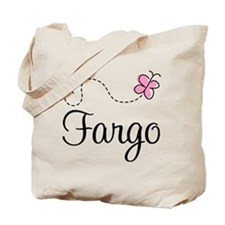 Pretty Fargo North Dakota Tote Bag