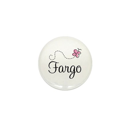 Pretty Fargo North Dakota Mini Button (100 pack)