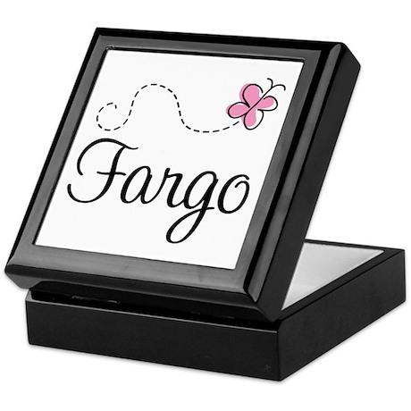 Pretty Fargo North Dakota Keepsake Box