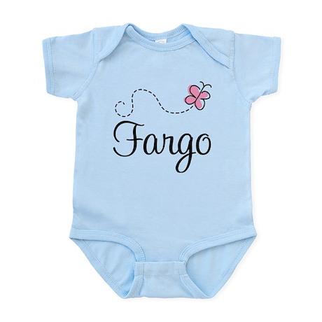 Pretty Fargo North Dakota Infant Bodysuit