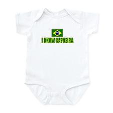I Know Capoeira Infant Bodysuit