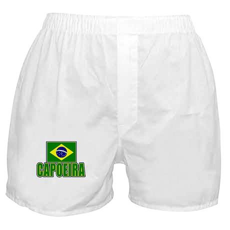 Capoeira - Brazil Flag Boxer Shorts