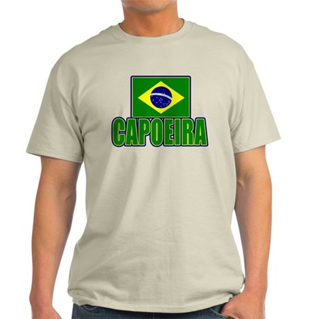 Capoeira - Brazil Flag Light T-Shirt