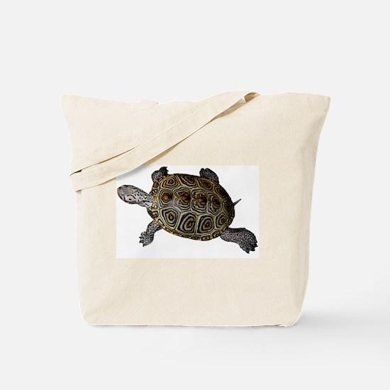 2-sided Carolina Diamondback Terrapin Tote Bag
