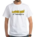 Confused Parent White T-Shirt