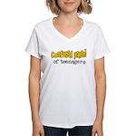 Confused Parent Women's V-Neck T-Shirt