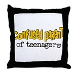 Confused Parent Throw Pillow