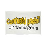 Confused Parent Rectangle Magnet