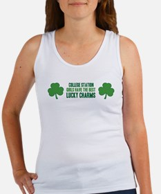 College Station lucky charms Women's Tank Top