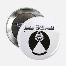 "Junior Bridesmaid 2.25"" Button"