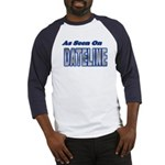 As Seen on Dateline Blue/White Baseball Jersey