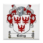 Curcy Coat of Arms Tile Coaster