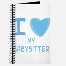 Blue I Heart (Love) My Babysi Journal