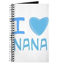 Blue I Heart (Love) Nana Journal