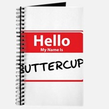 Hello My Name is Buttercup Journal