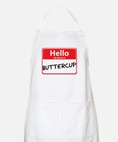 Hello My Name is Buttercup BBQ Apron