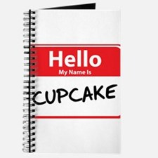 Hello My Name is Cupcake Journal