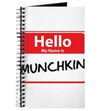 Hello My Name is Munchkin Journal