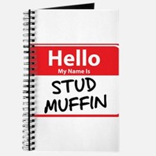 Hello My Name is Stud Muffin Journal