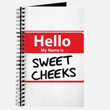 Hello My Name is Sweet Cheeks Journal