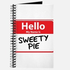 Hello My Name is Sweety Pie Journal