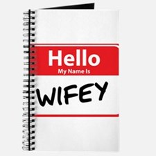 Hello My Name is Wifey Journal