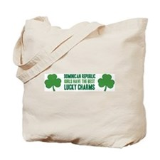 Dominican Republic lucky char Tote Bag