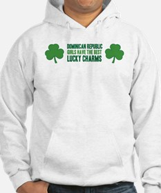 Dominican Republic lucky char Hoodie