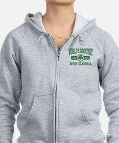 World's Greatest Irish Grandma Zip Hoodie