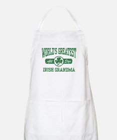 World's Greatest Irish Grandma BBQ Apron