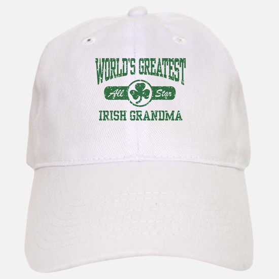 World's Greatest Irish Grandma Baseball Baseball Cap