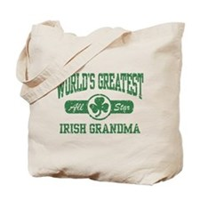 World's Greatest Irish Grandma Tote Bag