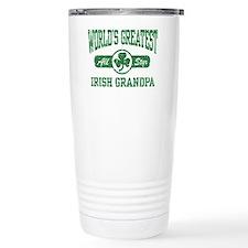 World's Greatest Irish Grandpa Travel Mug