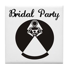 Bridal Party Tile Coaster