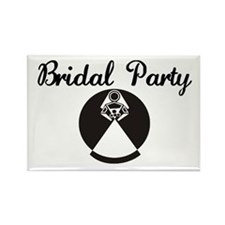 Bridal Party Rectangle Magnet