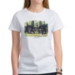 Audubon Black Bear Animal Women's T-Shirt