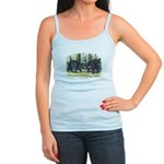 Audubon Black Bear Animal Jr. Spaghetti Tank