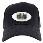 Audubon Black Bear Animal Black Cap