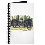 Audubon Black Bear Animal Journal