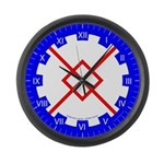 Innilgard populace Large Wall Clock