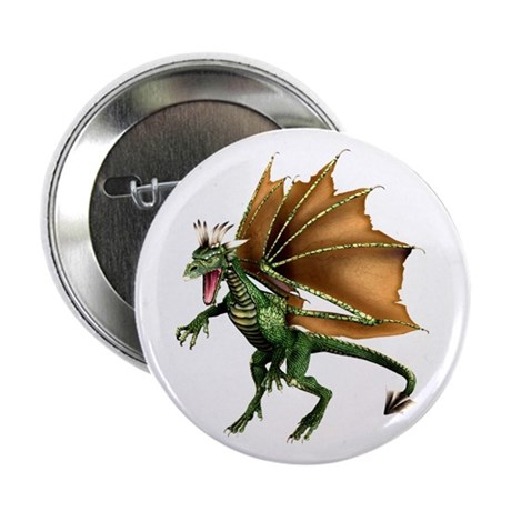 "Green Dragon 2.25"" Button (10 pack)"