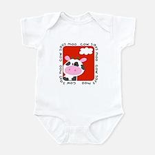 Cow Says Moo Infant Bodysuit