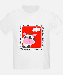 Cow Says Moo T-Shirt