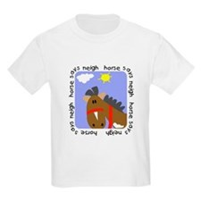 Horse Says Neigh T-Shirt