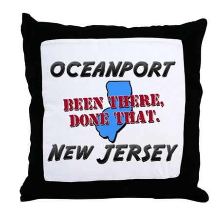 oceanport new jersey - been there, done that Throw